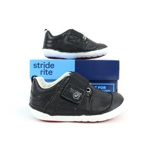 STRIDE RITE LEATHER SHOES, SIZE 3.5